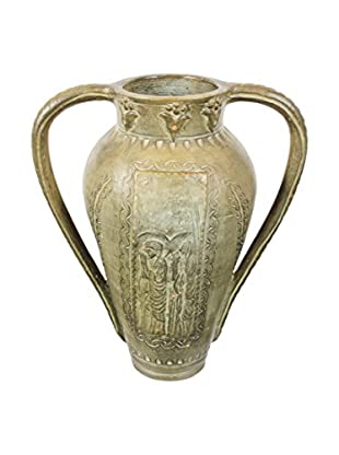 Ceramic Urn, Gray