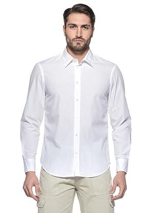 Nautica Camisa Hombre (Blanco)