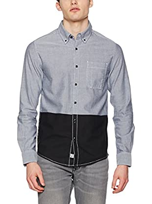 adidas Camisa Hombre Chemise Ml Coton