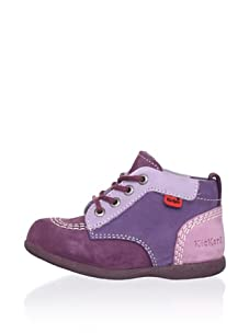 Kickers Kid's Colorblock Ankle Boot (Violet)