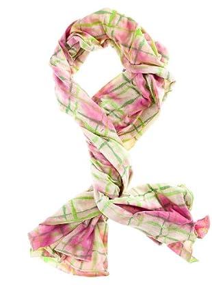 Custo Tuch Plee (rosa/grün/weiß)