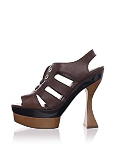 MARNI Women's Platform Sandal (Coffee)