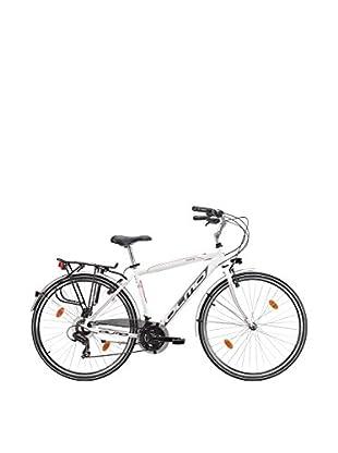 Olmo Bicicleta City Moving 7V Hombre Blanco