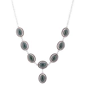The Crazy Neck Green Traditional Neckpiece Necklace