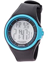 Sonata Ocean Series Digital Grey Dial Men's Watch - NE7992PP12J