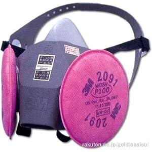 【クリックで詳細表示】3M 取替え式防じんマスク 6000DDSR/2091-RL3 ラージ 6000DDSR/2091-RL3 L: 産業・研究開発用品