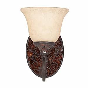 Triarch 25691 Jewelry Wall Sconce, Harvest Bronze