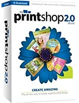 Brand New The Print Shop 2.0 Deluxe Sb (Works With: WIN XP VISTA WIN 7)