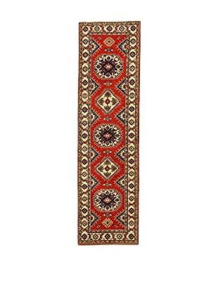 L'EDEN DEL TAPPETO Alfombra Uzebekistan Super Rojo/Multicolor 79 x 290 cm