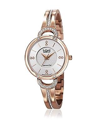 Bürgi Uhr mit schweizer Quarzuhrwerk Woman rosé 30 mm