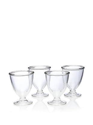 Home Essentials Set of 4 Sweet Vita Footed Sundae Glasses, 12-Oz.
