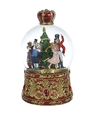 Kurt Adler Musical Lighted Nutcracker Waterglobe