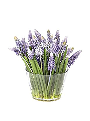Sage & Co. Muscari Arrangement in Glass Vase