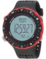 Columbia Men's CT004010 Singletrak Black and Red Digital Sports Watch