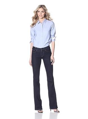 Notify Women's Iris Flare Leg Jean (Dark Blue)