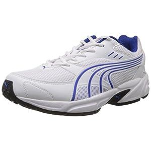 Puma Men's Storm 3.5 White and Blue Mesh Running Shoes - 6 UK/India (39 EU)