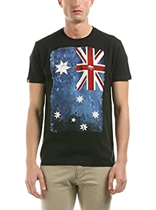 Hot Buttered Camiseta Manga Corta Flag