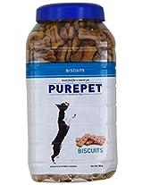 Purepet Real Chicken Biscuit, 500 g (Milk)