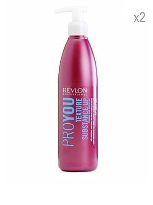 Revlon Set 2 Pro You Cremas Nutritivas Texture Fijador Protección 350 ml
