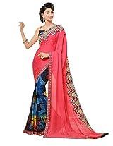 Gopalclothdesigner Art Silk Resham Saree (iwgy150_Multicolor)