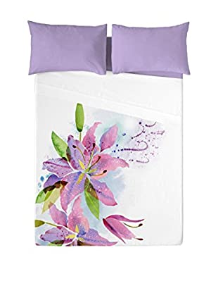 NATURALS Juego De Sábanas Lily Flowers