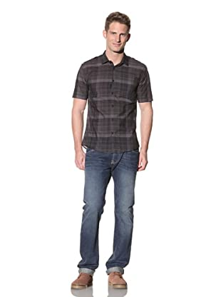 Eubiq Men's August Shirt (Charcoal Multi)
