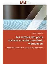 Les Suretes Des Parts Sociales Et Actions En Droit Vietnamien (Omn.Univ.Europ.)