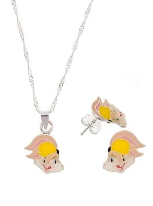 Warner Conjunto Gargantilla y Pendientes Lola Bunny