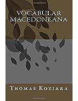 Vocabular Macedoneana