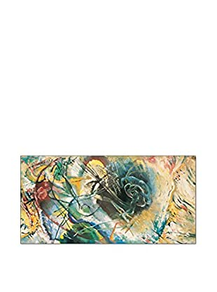 ArtopWeb Panel de Madera Kandinsky Improvvisazione 100x50 cm