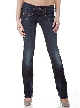 Herrlicher Jeans Pitch Denim Stretch regular fit (Dark)