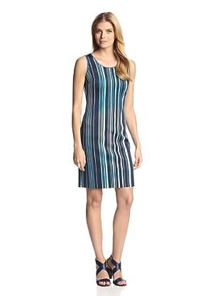 Marc New York Women's Printed Sheath Dress (Bluestone)