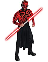 Star Wars Adult Deluxe Darth Maul Muscle Chest Costume And Mask