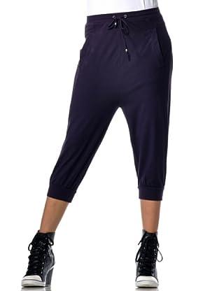 Datch Gym Pantalone Capri (Viola)