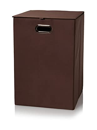 Creative Bath Fold-N-Store Hamper (Brown)