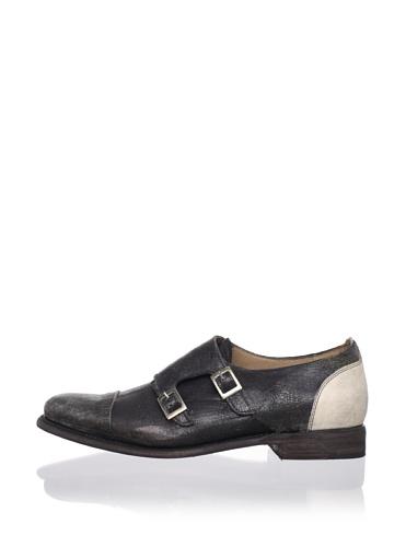 JD Fisk Men's Fremont Shoe (Black Leather)