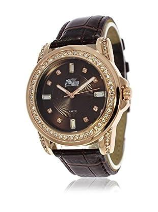 Pit Lane Uhr mit Miyota Uhrwerk Pl-4003-4 schokolade 36 mm