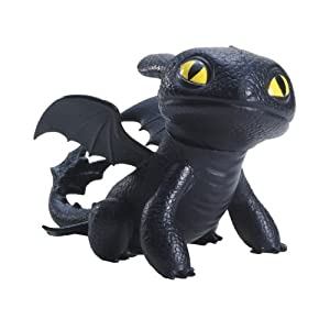 Dreamworks Dragons Defenders of Berk Mini Dragons Toothless Night Fury Action Figure