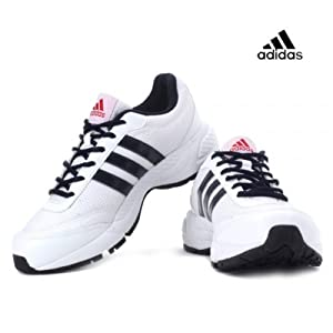Adidas Men's Sports Shoe D70538 White Dark Navy col red Black
