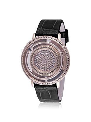 Versace Women's VFH120013 Venus Diamond & Spinel Black Alligator Watch
