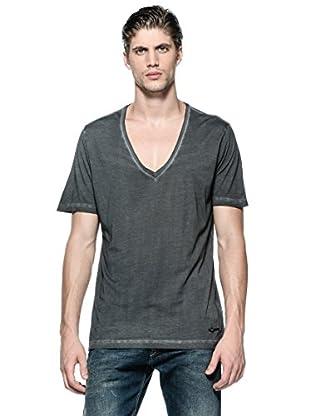 Diesel Camiseta T-Barham-R (Negro)