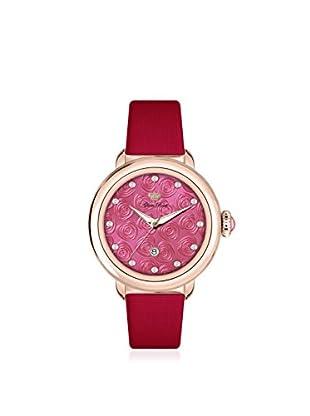 Glam Rock Women's GR77003 Bal Harbour Red Techno Silk Watch
