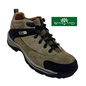 Woodland Men's Casual Hi-Ankle Shoe 792110-Khaki