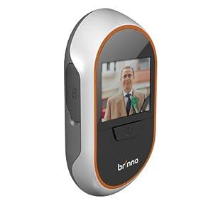 Brinno PeepHole Viewer PHV1330 with Motion Sensor Set (White/Black)