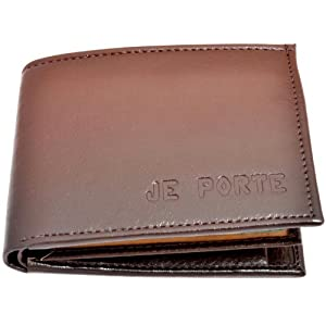 Je Porte 252 Two Tone Dana Brown Wallet For Men