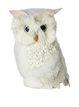 Sage & Co. Medium Felt Feather Owl