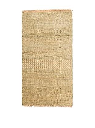 CarpeTrade Alfombra Grass Beige 117 x 59 cm
