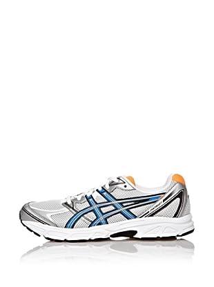 Asics Zapatillas Running Patri 6 (Blanco / Azul / Naranja)