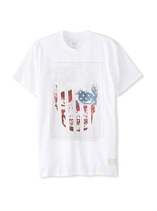 Kinetix Men's American Rebel T-Shirt (White)