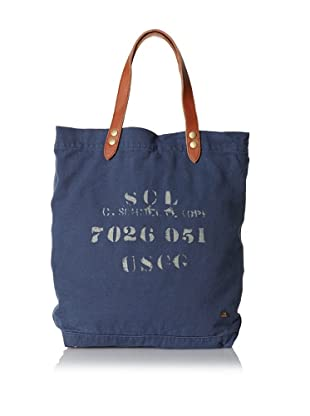 Scotch & Soda Men's Cotton Canvas Bag (Indigo)